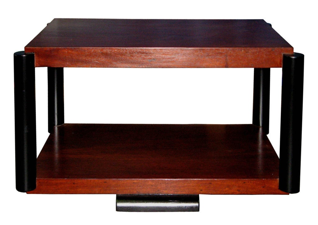Vintage Mahogany Coffee Table At 1stdibs