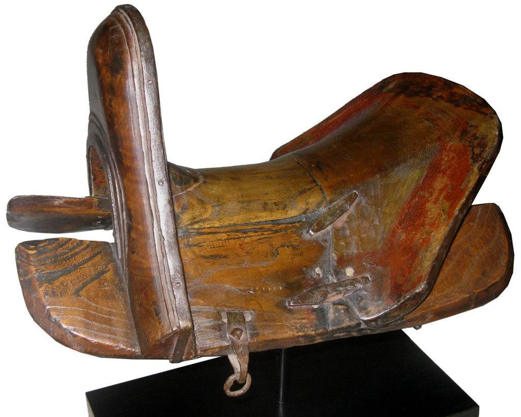 Vintage Mongolian Saddle image 3
