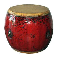 Red Ceremonial Drum