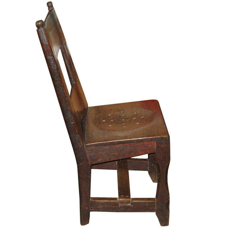 Nara Wood School Chair At 1stdibs