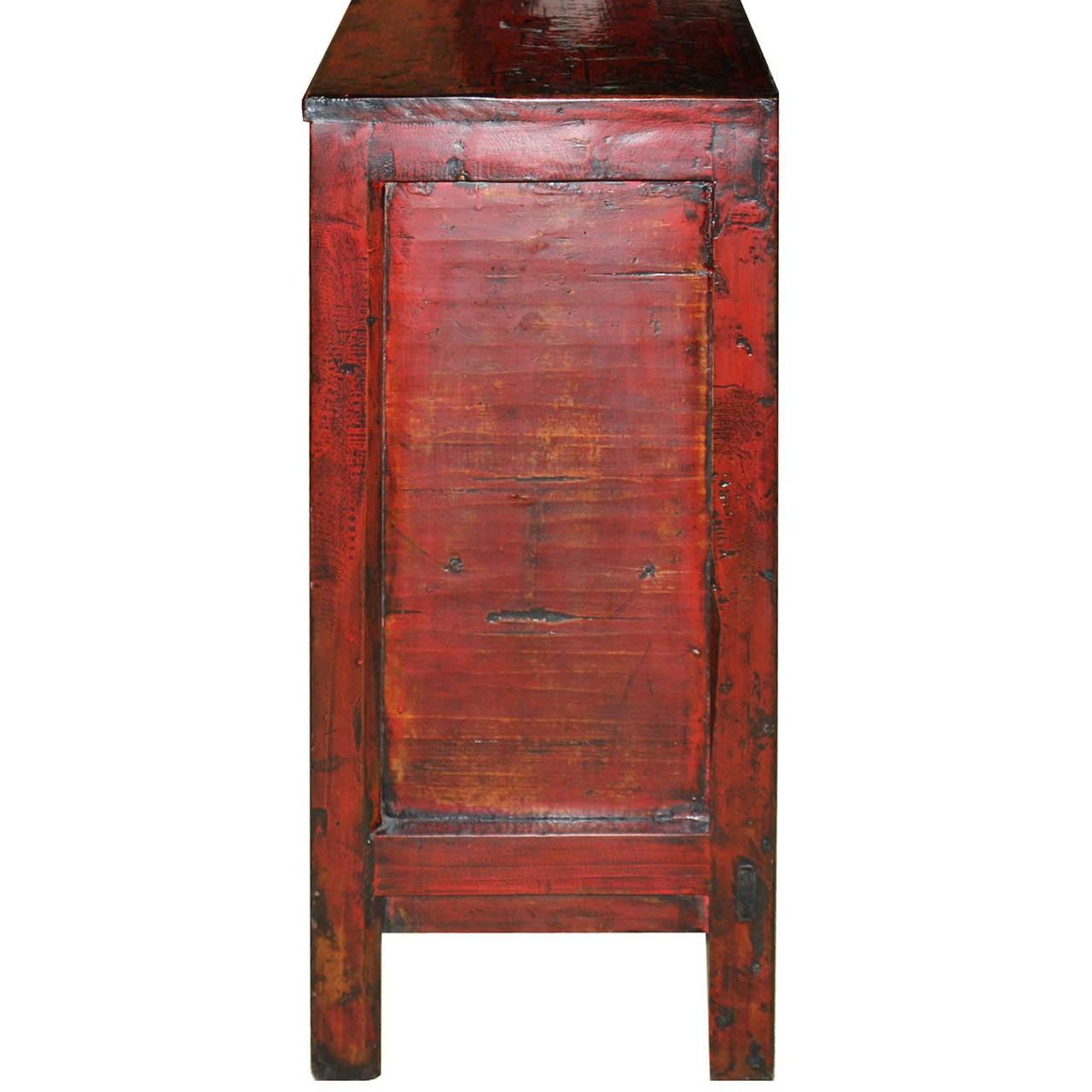 Gansu Red Buffet For Sale 2