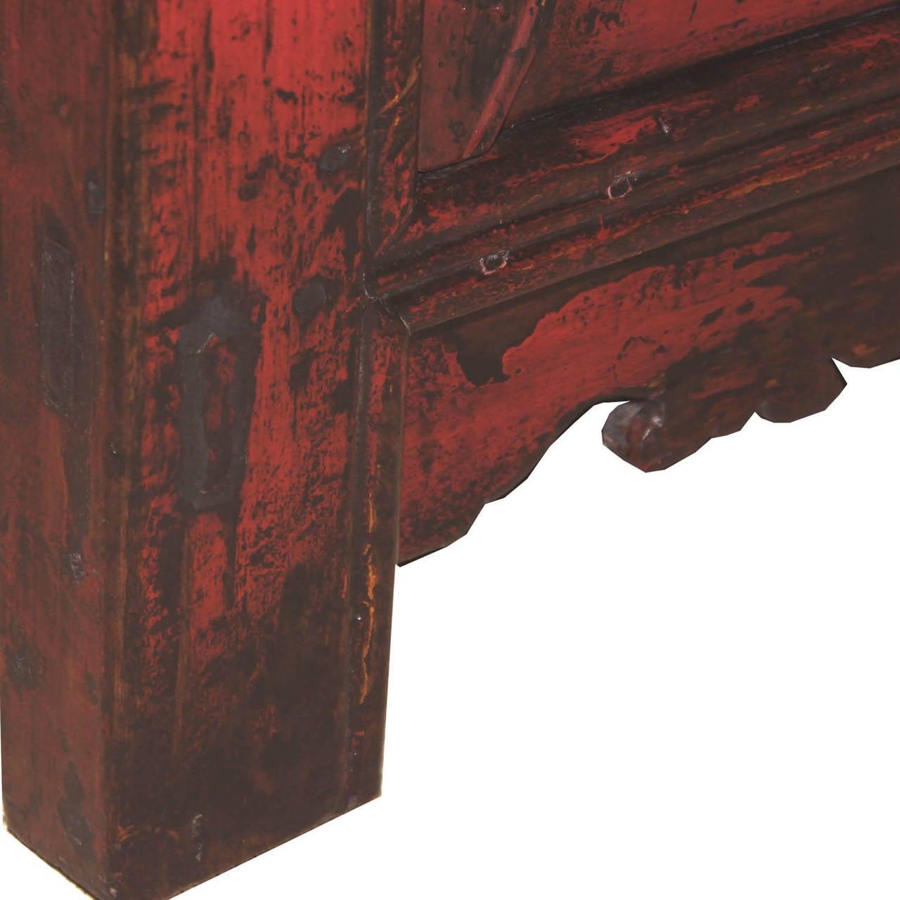 Gansu Red Buffet For Sale 1