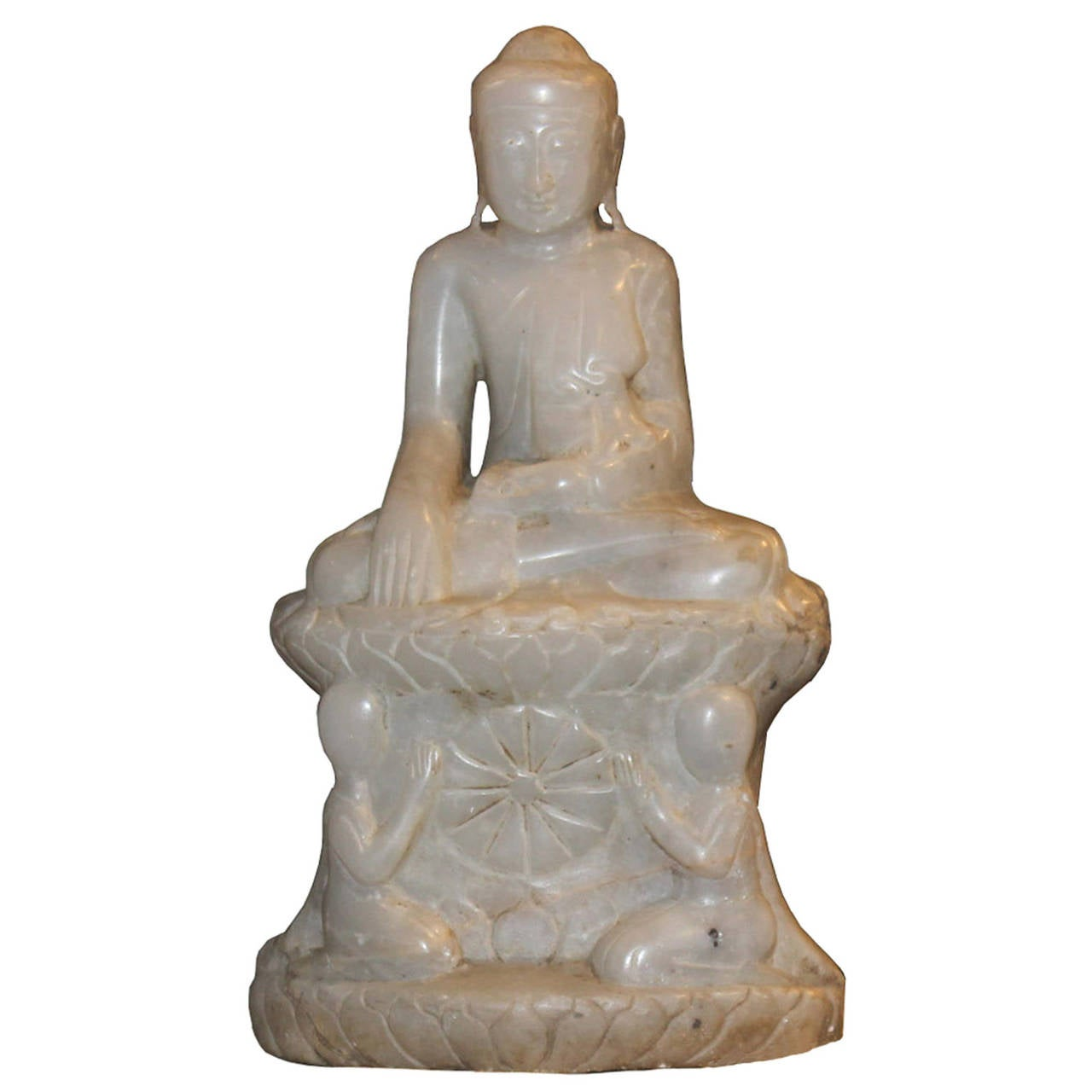 Marble Sitting Buddha For Sale