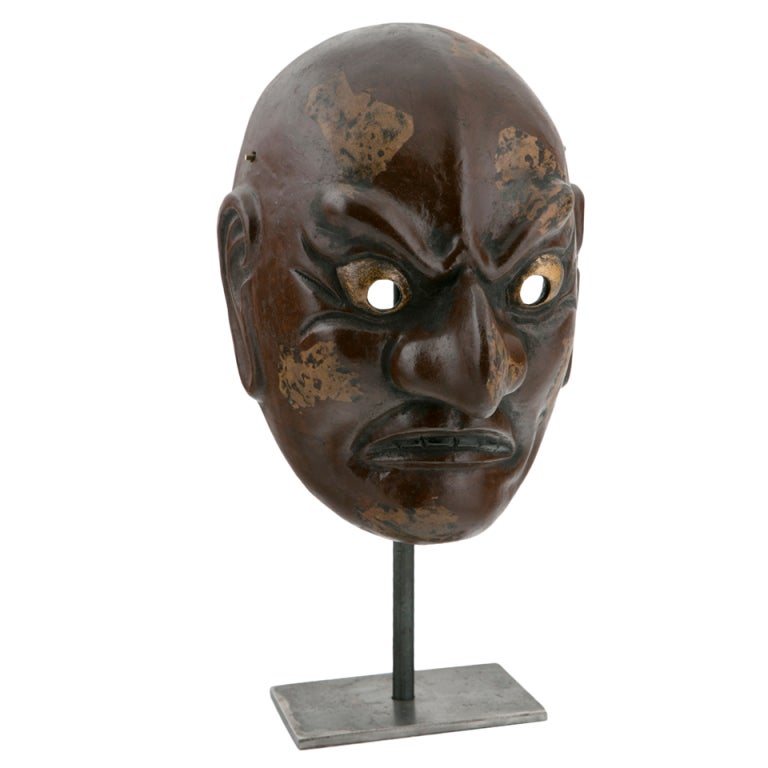Taisho Period Noh Mask For Sale