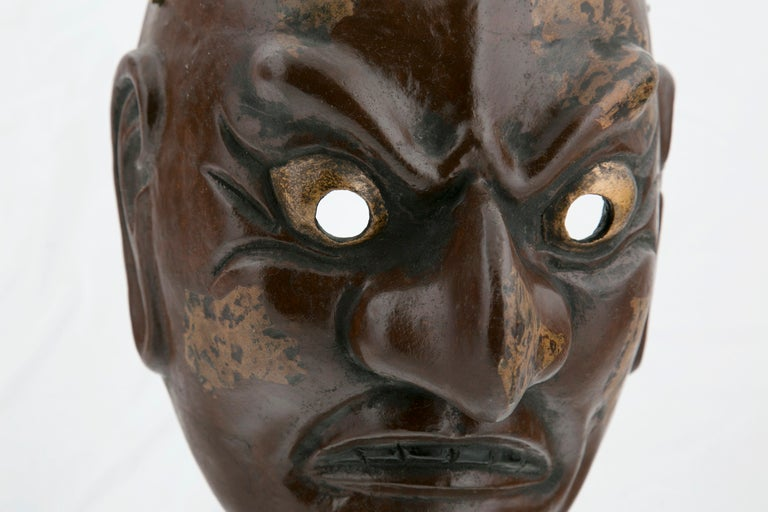 Japanese Taisho Period Noh Mask For Sale