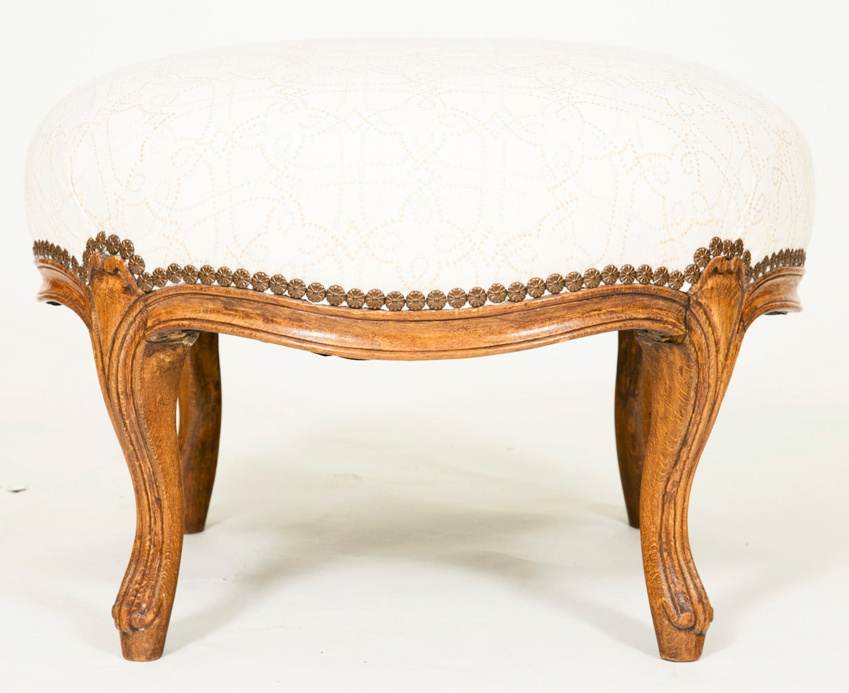 Napoleon III Stool France circa 1850 In Good Condition For Sale In San Francisco, CA
