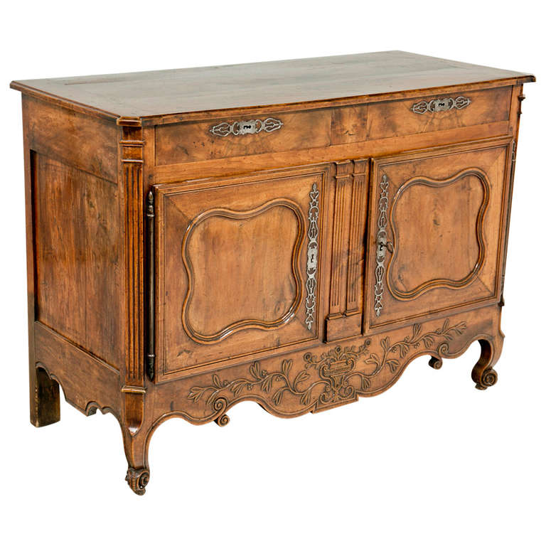 Louis XVI Provincial /Country Buffet in Fruitwood, France circa 1770