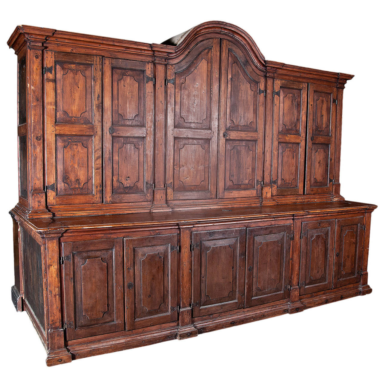 spanish colonial massive cabinet circa 1800 at 1stdibs. Black Bedroom Furniture Sets. Home Design Ideas