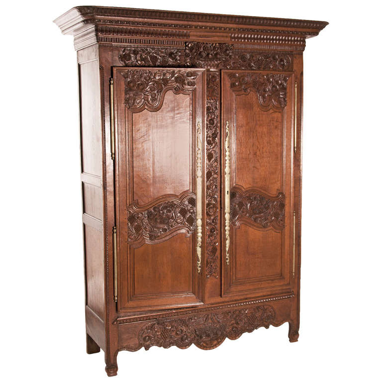 Early 19th century French Marriage Armoire