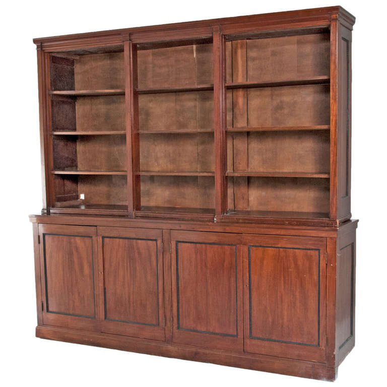 Late 19th Century English Bookcase For Sale