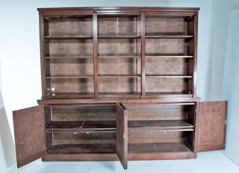 20th Century Late 19th Century English Bookcase For Sale