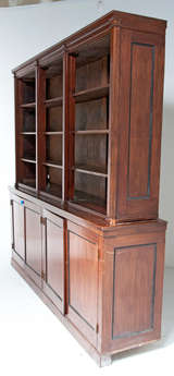 kitchens by design vt edwardian mahogany bookcase at 1stdibs 6592