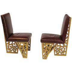 Pair of Robert Hutchinson Designed Chairs, San Francisco, circa 1970