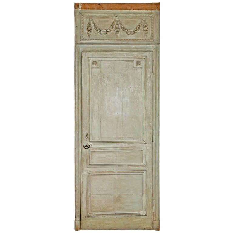 Pair of 18th Century French Painted Doors, ex. Doris Duke