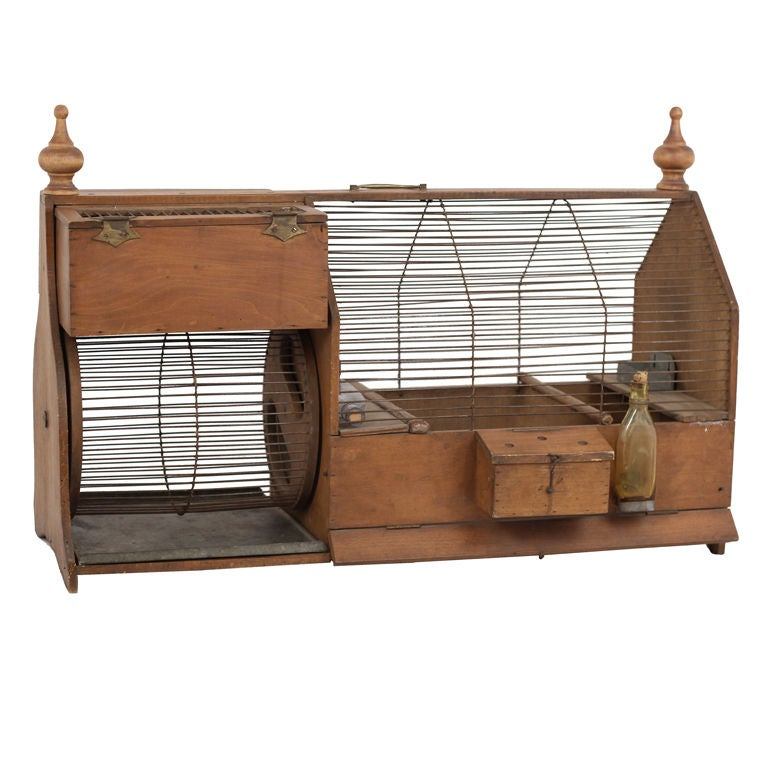 Antique Squirrel Cage