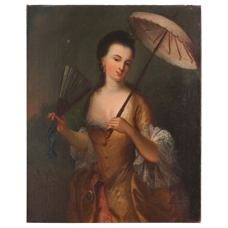 18th Century Portrait of a Beauty