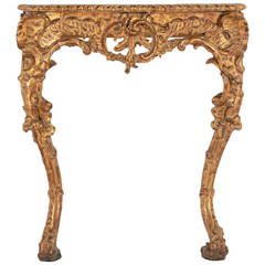 Italian Rococo Console late 19th century or early 20th century