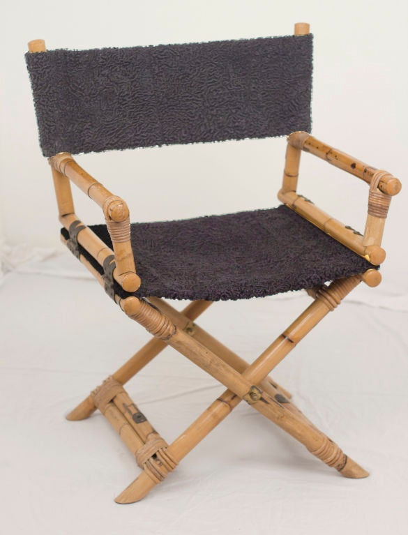 Vintage Directors Chair At 1stdibs