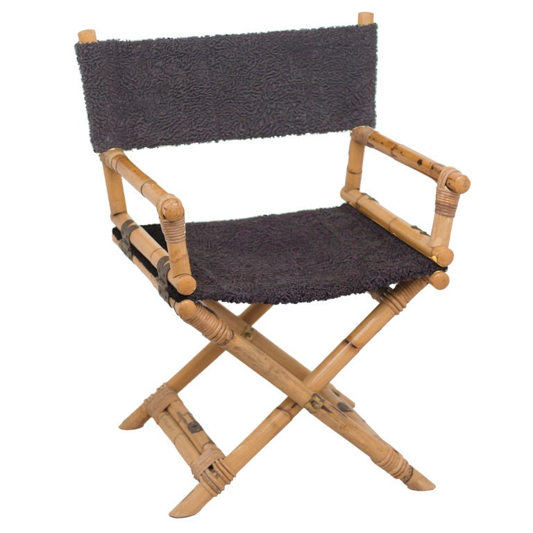 Beau Vintage Directors Chair For Sale