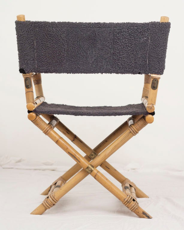 Vintage Directors Chair In Good Condition For Sale In San Francisco, CA - Vintage Directors Chair At 1stdibs