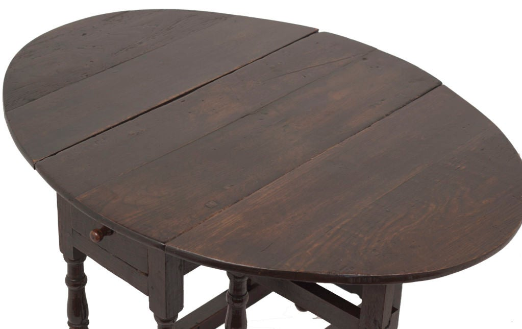 this small charles ii oak oval drop leaf table is no longer available