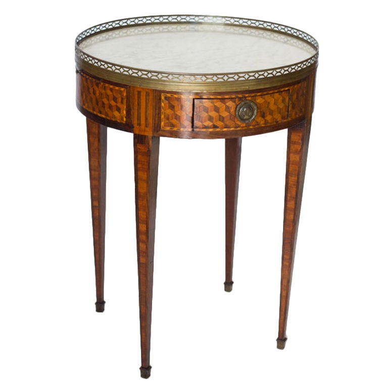 French bouilotte gueridon table at 1stdibs for Table gueridon