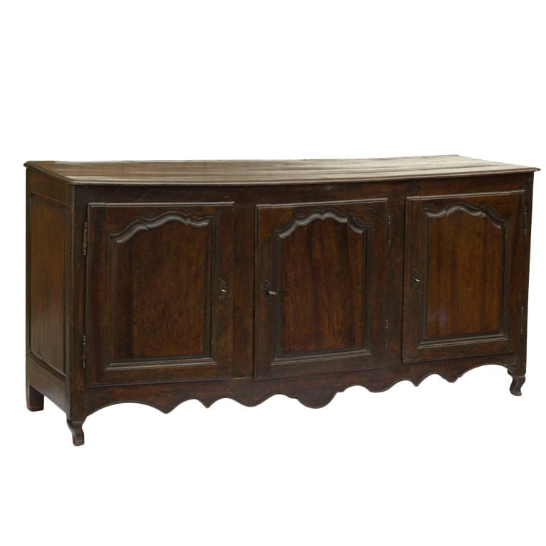 continental oak enfilade for sale at 1stdibs. Black Bedroom Furniture Sets. Home Design Ideas