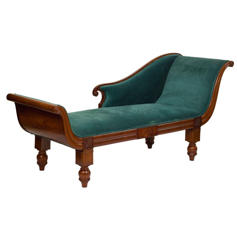 Swedish Empire Recamier Fainting Couch At 1stdibs