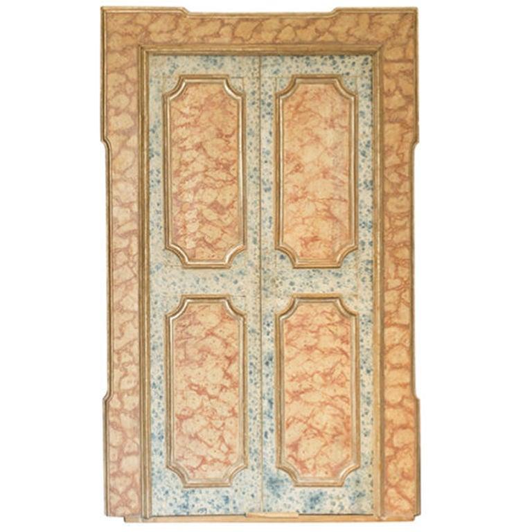 Pair of 18th century Antique Italian Doors