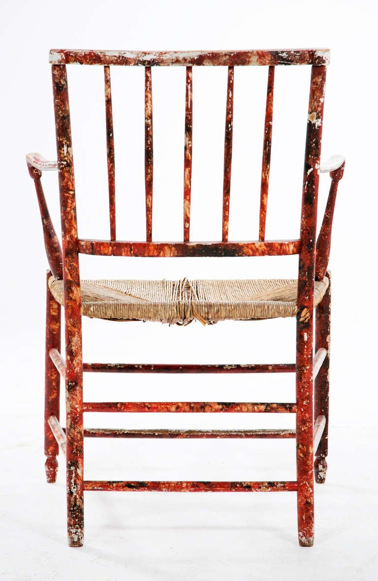 An Early 19th century Victorian Cottage Armchair For Sale ...