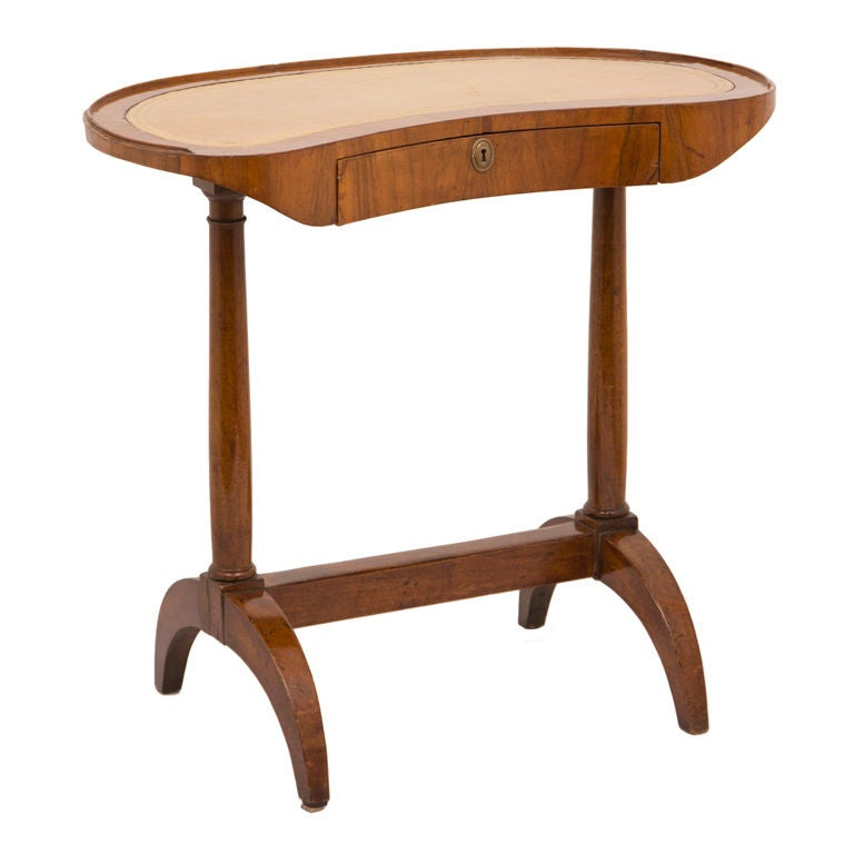 Antique Directoire Walnut Writing Table And A Copy At 1stdibs
