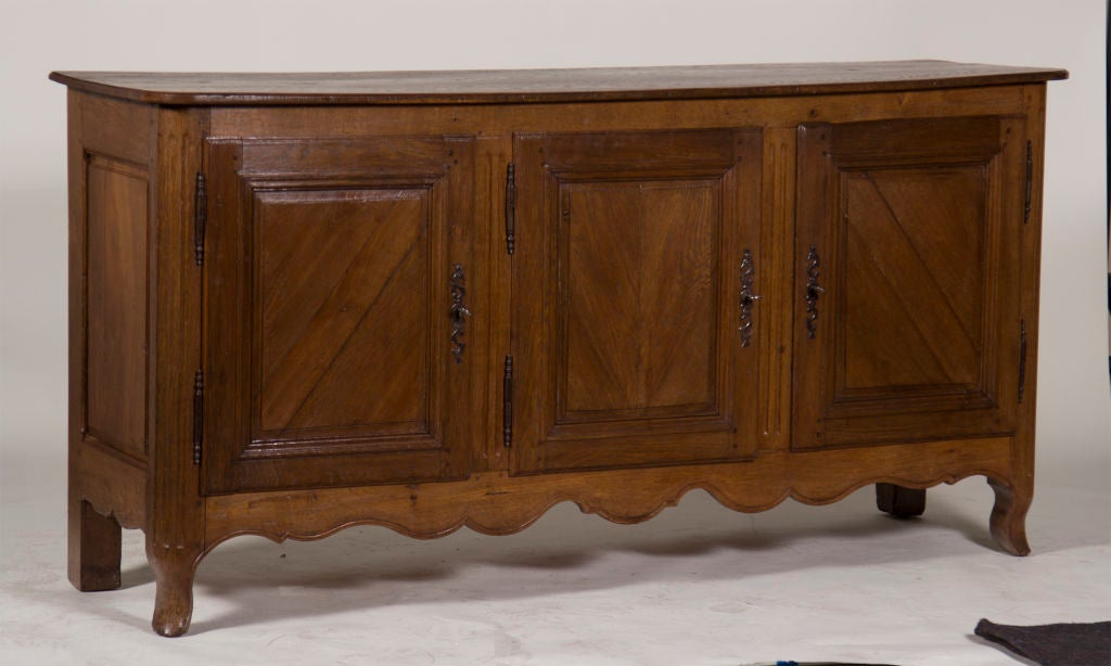 Large antique french enfilade buffet sideboard at 1stdibs - Buffet enfilade vintage ...