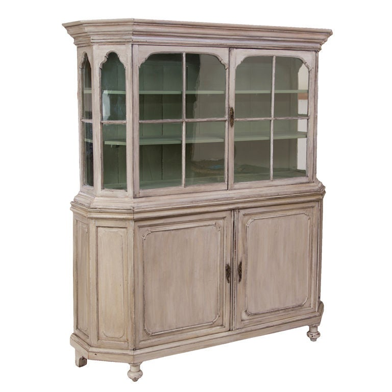 antique painted belgian cabinet at 1stdibs