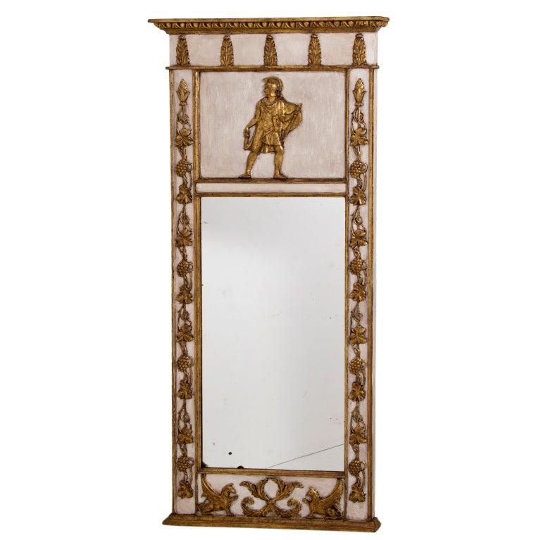 A 19th century Neoclassical Mirror, 62.5″ x 26.5″