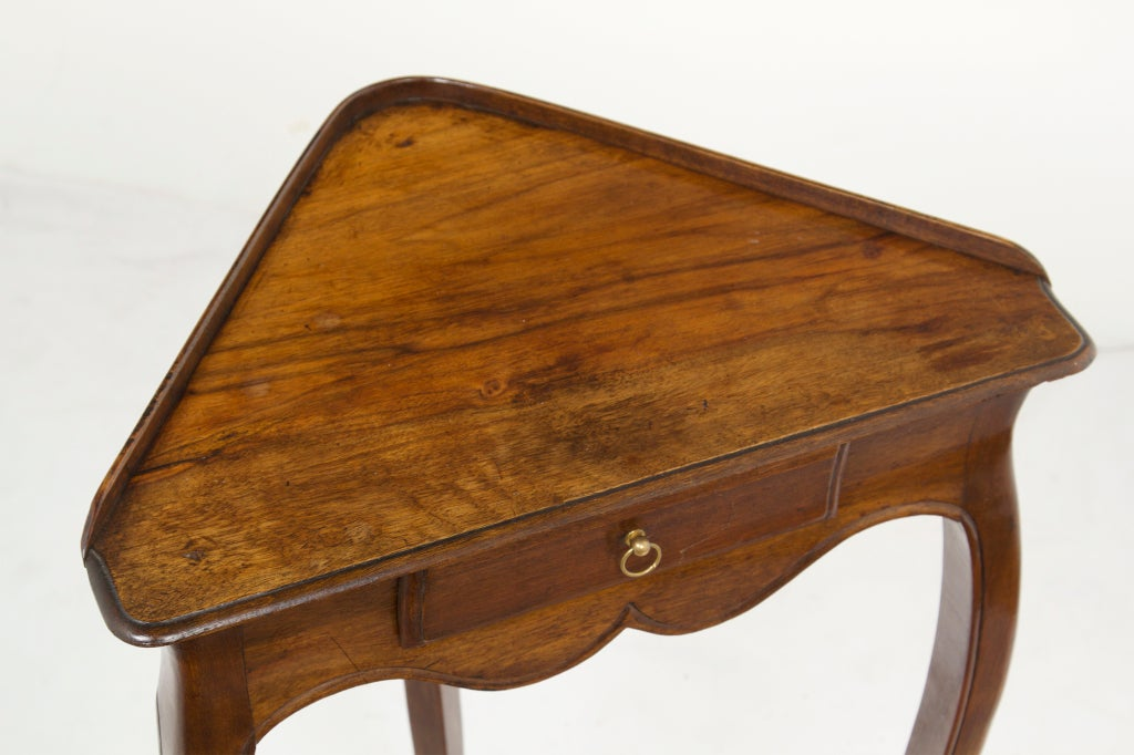 small vintage french corner table at 1stdibs