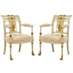 Pair of 18th Century Chairs by Jacob