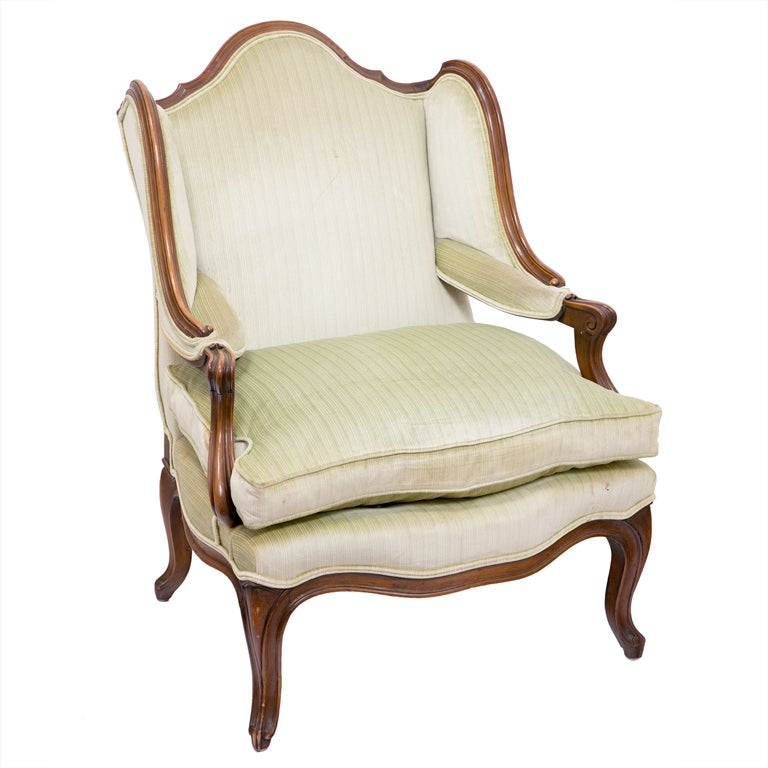 """1960s Missoni Wingback Chair At 1stdibs: Old French """"Wing"""" Chair At 1stdibs"""