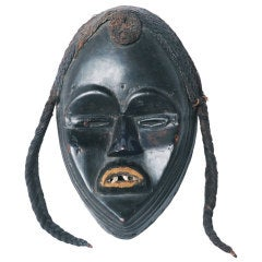 Exceptional Dan Mask Africa, circa 1880