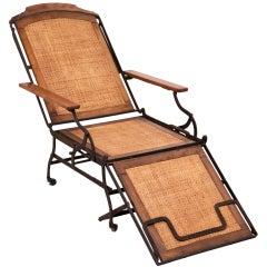 Folding Campaign Chair, circa 1900