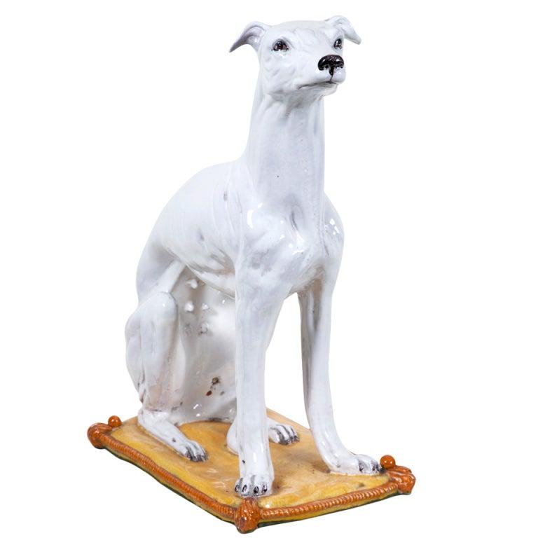Vintage italian pottery dog at 1stdibs for Retro italian xxx