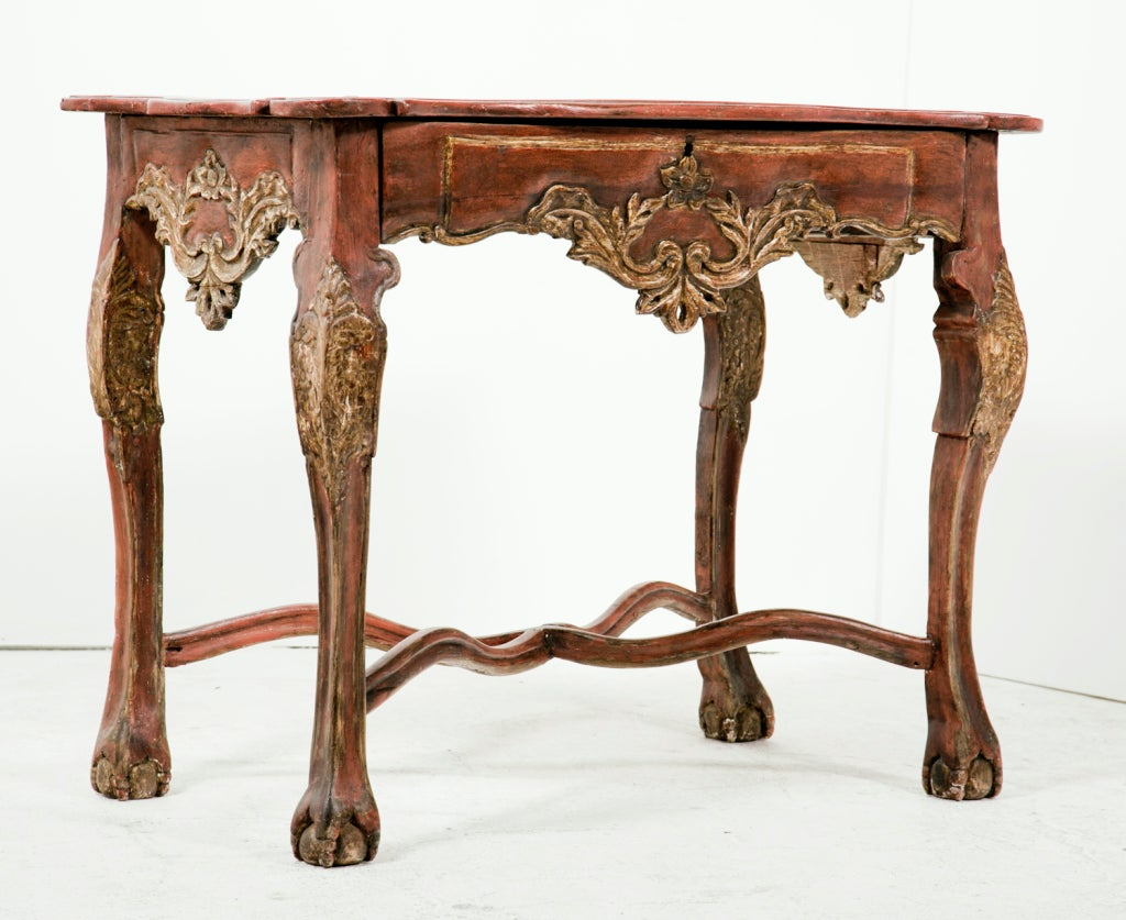 19th century colonial baroque console at 1stdibs - Console style colonial ...