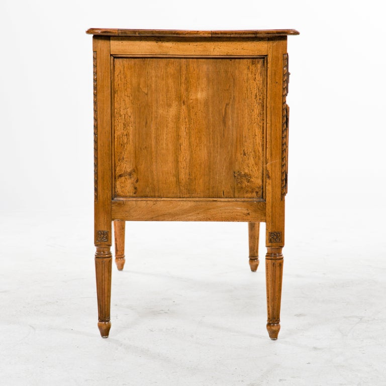 Rustic Northern Italian Walnut Desk Writing Dressing