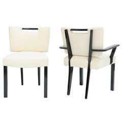 Set of Six Paul Laszlo Dining Chairs
