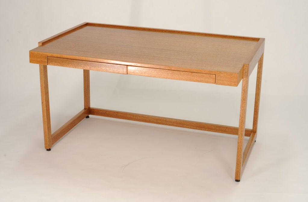 Paul Laszlo Desk and Matching File Cabinet 2