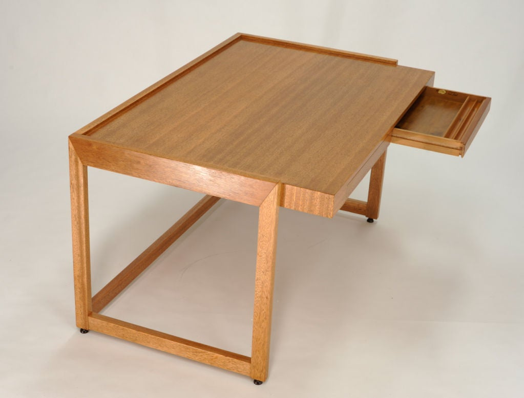 Paul Laszlo Desk and Matching File Cabinet 3