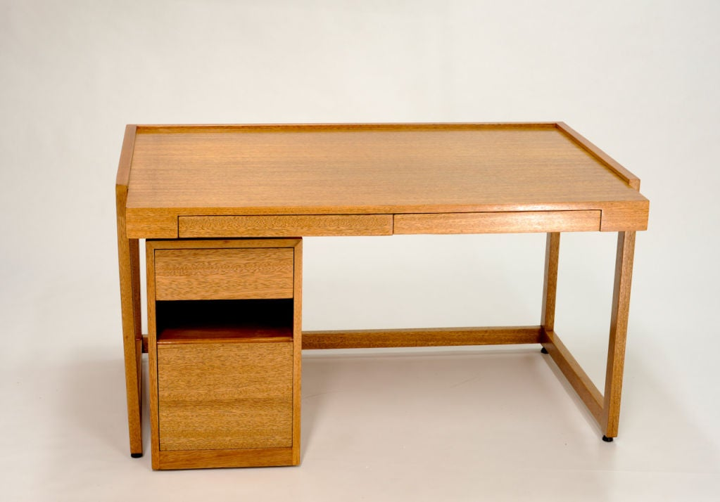 Paul Laszlo Desk and Matching File Cabinet 4