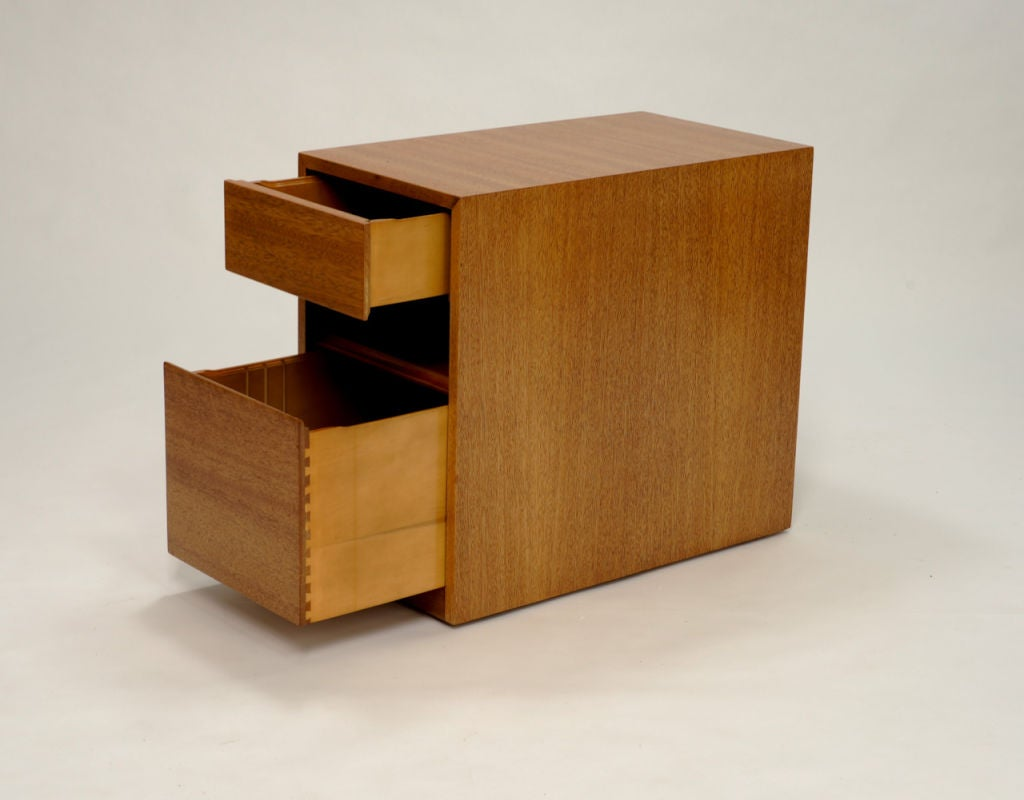 Paul Laszlo Desk and Matching File Cabinet 5