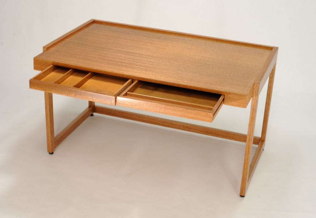 Paul Laszlo Desk and Matching File Cabinet 7