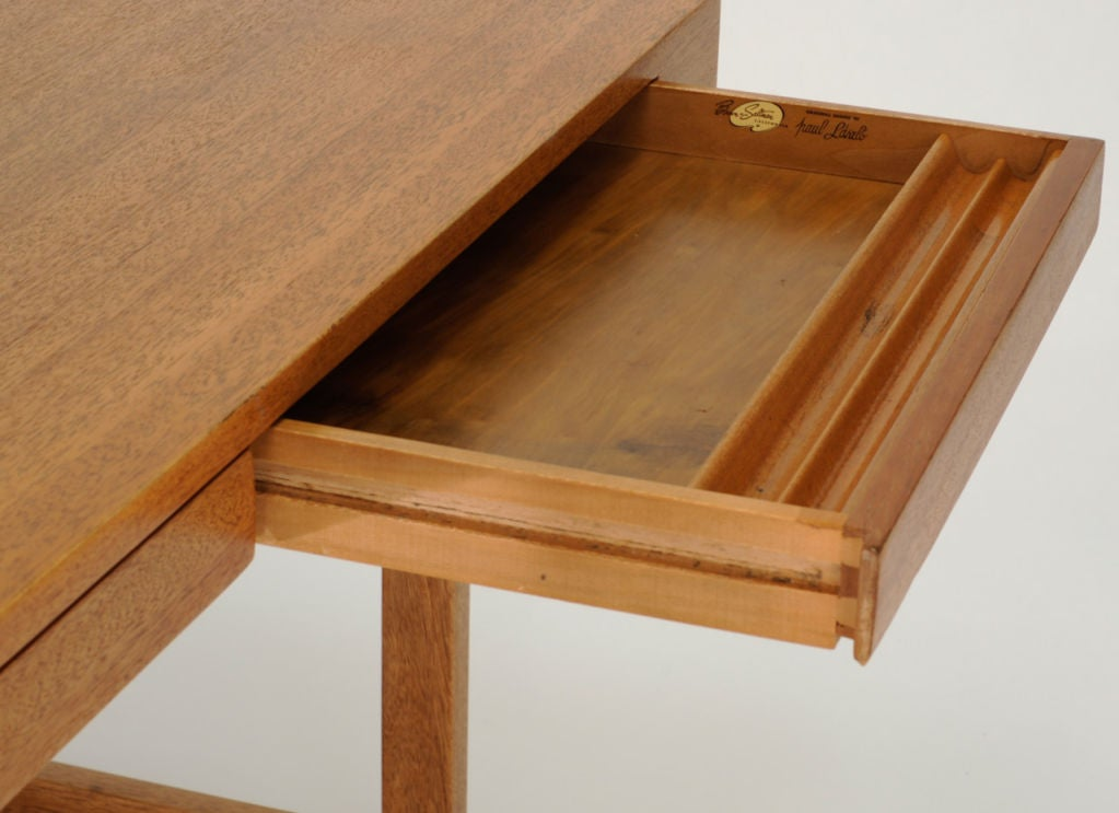 Paul Laszlo Desk and Matching File Cabinet 8