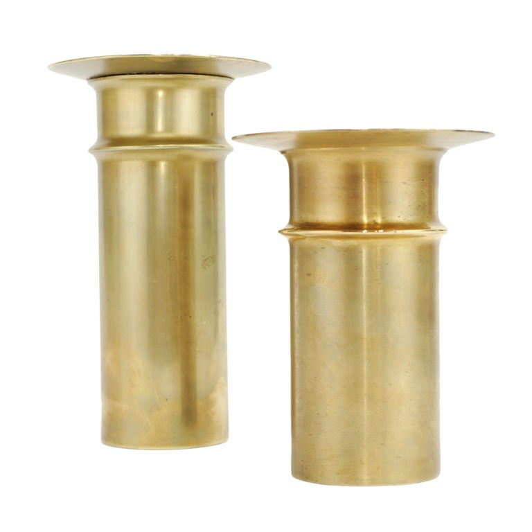 Tapio Wirkkala Brass Candlesticks